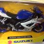 Moto Suziki 1/12 Escala Coleccion Newray Replica La Plata