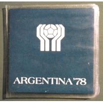 Blister De Monedas Argentina Conmemorativas Mundial 78