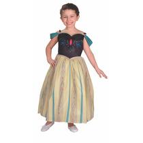 Disfraz Frozen Anna Coronacion Licencia Disney Original