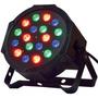 Luz Proton Par 18 Led Alta Luminosidad Rgb Audioritmico Dmx