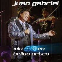 Juan Gabriel Mis 40 En Bellas Artes ( Cd Doble )