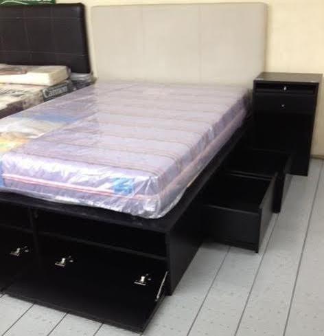 Super cama 2 plazas con 4 cajones y 2 botineros increible for Medidas de cama de una plaza