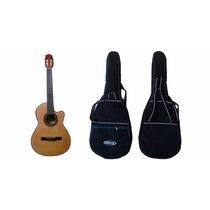 Guitarra Criolla Gracia M6 Con Funda Acolchada Tiras Mochila