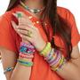 1000 Gomitas Loom Band  De Colores + 5 Aguja + 60 Cierres