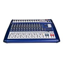 Consola Mixer Potenciada Proco Profesional Sb8400