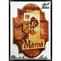 ¡¡dia De La Madre!! Tallado En Madera Únicos Para Mamá