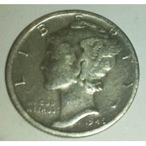 Moneda Plata 1 Dime Dollar 1945/47 Usa Estados Unidos C/u