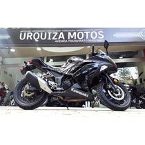 Moto Kawasaki Ninja 300 9000 Km 2014 Negra Urquiza Motos
