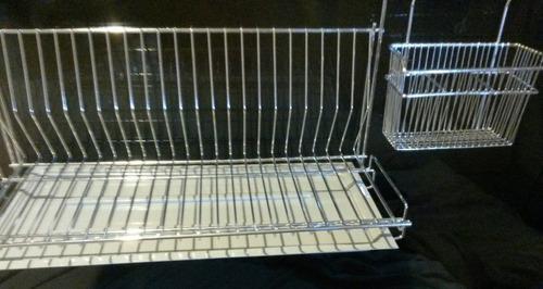 Secaplatos Barrales Cromados Cocina Accesorios Set Completo 2d5d009780b3