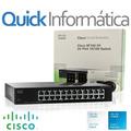 Switch Cisco Sf100-24 24 Puertos 10/100 Rack (ex Sr224t)