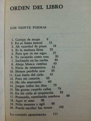 20 poemas y una historia de amor: