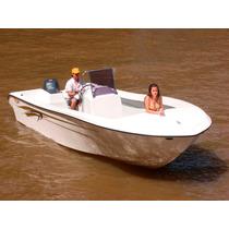 Lancha Gg730 Bote Pescador 2016 Con Motor Mercury 115 4t
