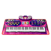 Alfombra Musical Piano Princesas Altavoz Mp3 Cd Mic Karaoke