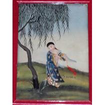 Pintura Sobre Vidrio (pintada En Espejo)