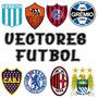 Vectores Escudos Futbol Camisetas +regalos El Mejor Pack