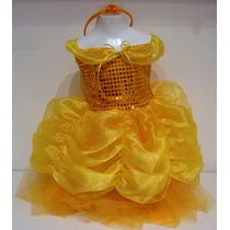 Hermoso Disfraz Para Beba Princesa Bella