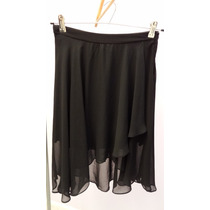 Pollera Gasa Negra Diseño Importada Oferta Urban Outfitter