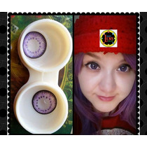 Lentes De Contacto Circle Lens 15mm Efecto Dolly Lolita Japo