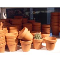 Macetas Macetitas Barro Numero 5 Pack X30u Cactus Souvenirs