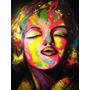 Jobs Cuadro Pintura Beso De Marylin (alto: 120cm Ancho:90cm