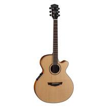 Guitarra Electroacústica Cort Parkwood Pw470 Con Estuche