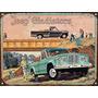 Cartel De Chapa Vintage Jeep Gladiator C205 No Es Vinilo