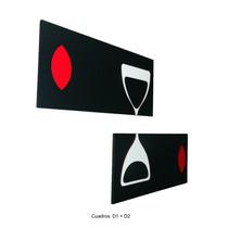 Cuadros Minimalistas Modernos En 3 D + Diseño Exclusivos!