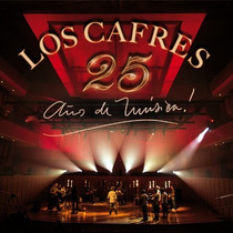 Los Cafres 25 Años De Música 2cd+dvd Open Music-wilde
