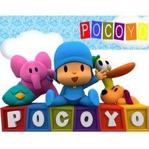 Kit Imprimible Candy Bar Pocoyo