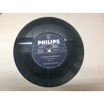 Disco Simple Vinilo Philips 83136-pb Horacio Guarany Noches