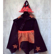 Set Disfraz Brujita Nenas Halloween Brovillnet