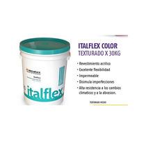 Revestimiento Acrílico Texturado Italflex X 30 Kg