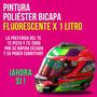 Pintura Fluo - Fluorescente Bicapa Tunning X 1 Litro