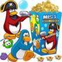 Kit Imprimible Club Penguin Cotillon Invitaciones Cumple 2x1