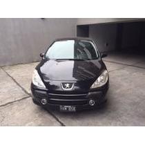 Peugeot 307 5ptas. 1.6 N Xt 110 Cv Color Negro - Impecable -