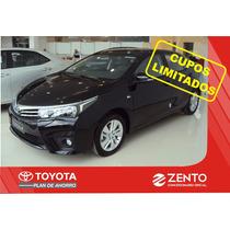 Toyota Corolla Plan De Ahorro 100% Sin Interes De Fabrica