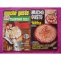 Lote Revista Mucho Gusto Recetas Tartas Dulces Y Saladas
