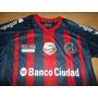 Camiseta San Lorenzo Lotto 2014 Tit Con Parche De Campeon
