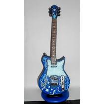 Guitarra Planas Para Tu Torta En Porcelana Fria!!