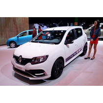 Renault Sandero Rs 2.0 146 Cv Anticipo $ 90000 Y Ctas Fjs Gm