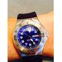 Reloj Azul Hombre Technomarine, Poco Uso. Con Caja Original.