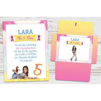 Kit Para Imprimir Soy Luna Disney Invitaciones Candy Bar