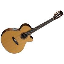 Guitarra Criolla Clasica Cort Cec7 Natural C/ Corte Y Eq