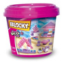 Blocky Balde Básico Nº 2 Nena 175 Piezas Kidplay