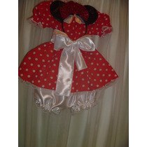 Disfraz De Minnie!!!!! 1º Añito