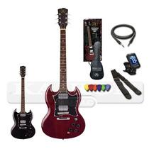 Pack Se4 Guitarra Sx Sg + Accesorios