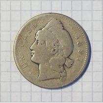 Republica Dominicana 1 Peso Plata 1897