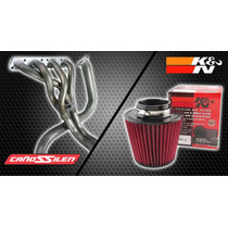 Escape Completo Gol Power / Trend + Filtro Cónico K&n