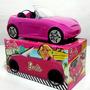 Auto Barbie Original Descapotable Tv C/ Stikers Z/ Oeste