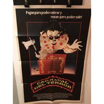 Afiche De Cine Original - Carnaval Del Terror